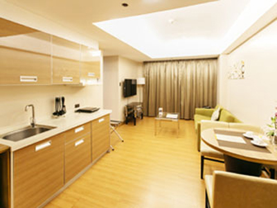 1 Bedroom Exec. Suite – View 01