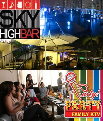 Sky High Bar | Party Family KTV